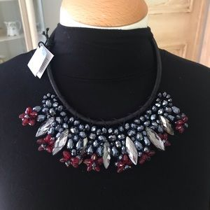 Jewelry - Black jeweled choker